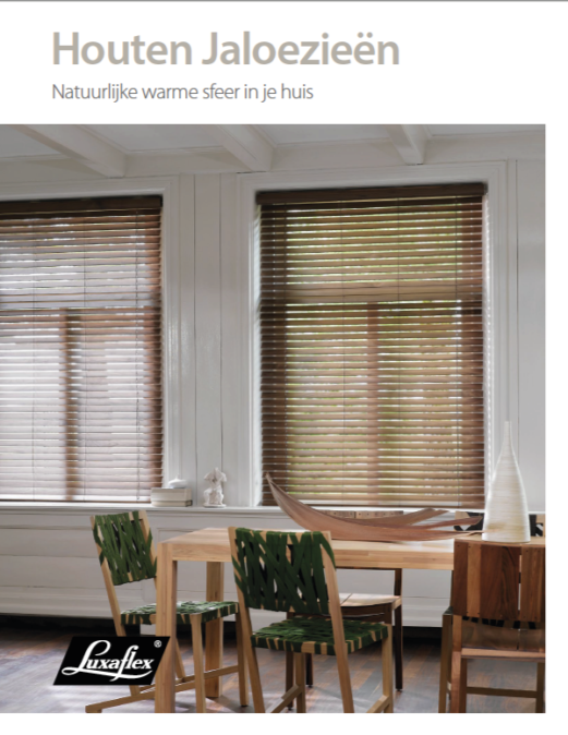 Brochure-Luxaflex-Houten-Jalouzieën