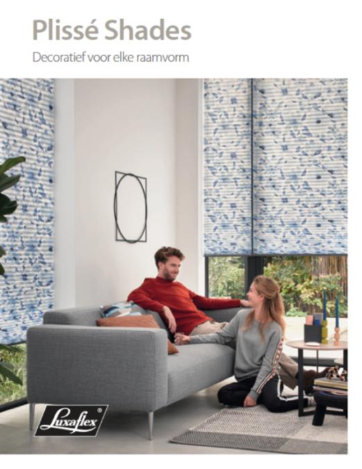 Folder Luxaflex Plisse-shades